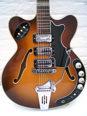 Hofner 4575 Verythin Vintage Guitar 1964  Höfner real vintage very rare