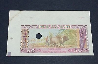 Guinea - 50 francs 1985, P 29p, Proof