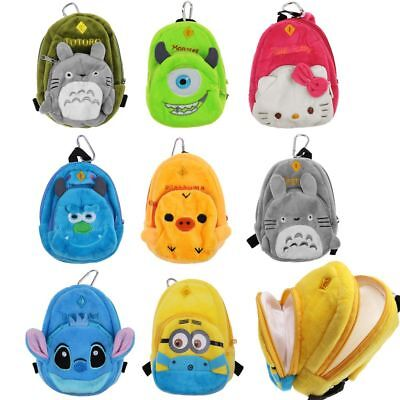 Cute Bag Plush Cartoon Backpack for American Girl 18 Inch Doll Accessories Newly