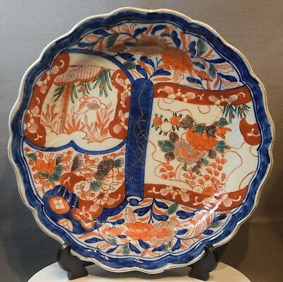 A Large Antique Japanese Imari Charger