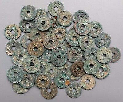 22 North Song Dynasty Big Zhe'er (2 Cash) Coins (960-1127 AD)-ON SALE