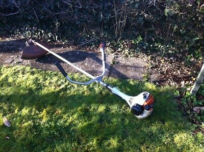 Stihl Fs55 Petrol Strimmer / Brushcutter (Handlebars) In Good Condition