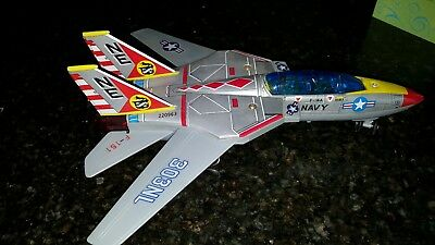 Vintage Toy F-14 Jet Fighter by SON AI TOYS SA-151 battery opperated TOMCAT...