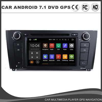 autoradio bmw e81 e82 e88 serie 1 gps android 7 1 wifi 4g. Black Bedroom Furniture Sets. Home Design Ideas