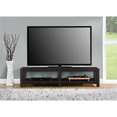 Mainstays Parsons Tv Stand For Flat Screen Tvs Up To 65 Dark