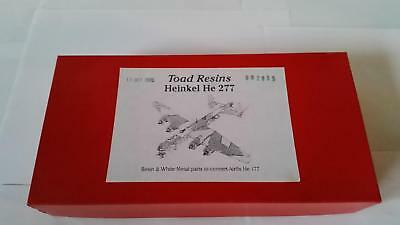 Toad Resins 002835 Heinkel He 277 Resin White Metal Parts 1:72 Conversion Kit