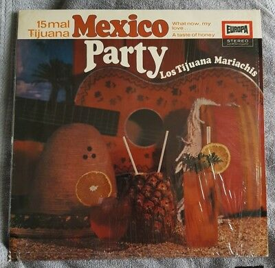 Ensemble: LOS TIJUANA MARIACHIS - MEXICO PARTY Schallplatte Vinyl Album LP 1967