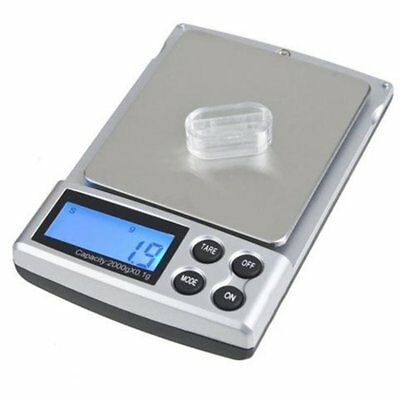 Portable Digital Pocket Weighing Balance Scale 300g / 0.01g /2000g / 0.1g YA