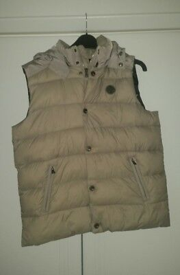 Armani junior boys padded quilted gilet age 14