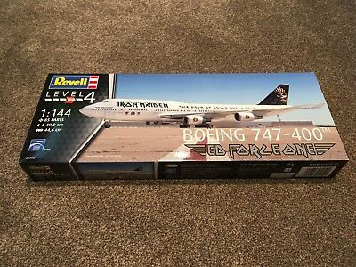 "REVELL BOEING 747-400 ""ED FORCE ONE""- Modellbausatz 1:144"