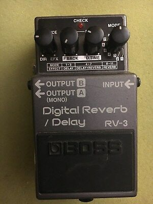 Boss RV-3 Digital Reverb/ Delay - Seriennummer GL00055!!