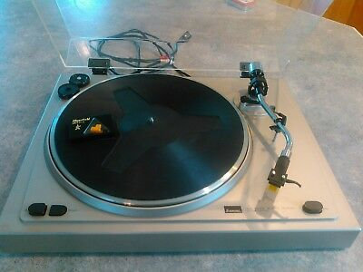 Vintage Sansui Turntable.SR-B200s Automatic Return.New Diamond Needle.Needs Belt