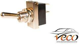 X5 Heavy Duty On/off Metal Flick Single Pole Toggle Switches 12 Volt 25 Amp K895