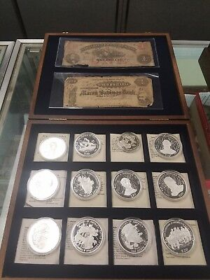"""Civil War Coin & Currency Set .999 Silver 😎 """"very Cool!""""   $200 Takes It! 😎"""