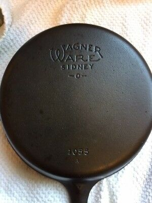 Wagner Ware Sidney -O- no 5 cast iron skillet 1055
