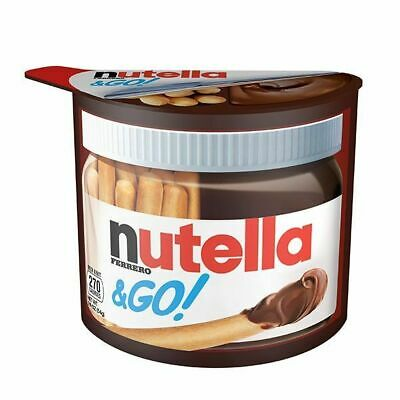 FERRERO - NUTELLA & GO ! - 52 g 1.8 oz FREE WORLDWIDE SHIP