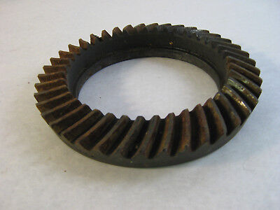 "Large Gear Industrial Wheel Metal Art Steampunk Project Home Decor 8 1/2"" dia."