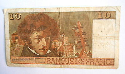 1978 Ten Francs (Old Franc) bank bill