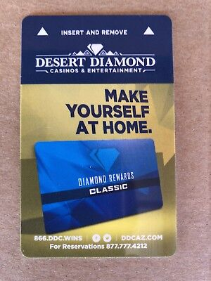 "Desert Diamond Hotel Casino Tucson, AZ Key Card ""Make Yourself At Home"""