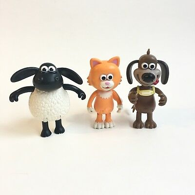 Timmy Time Sean The Sheep Posable Figures Mittens Ruffy - Wallace & Gromit - Lot