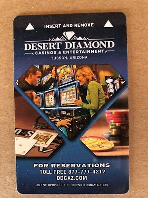 Desert Diamond Hotel Casino Tucson, AZ Key Card