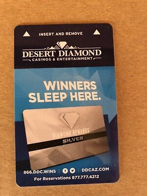 "Desert Diamond Hotel Casino Tucson, AZ Key Card ""Winners Sleep Here"""
