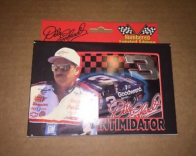 1999 Dale Earnhardt NASCAR Playing Cards Tin Numbered Limited Edition