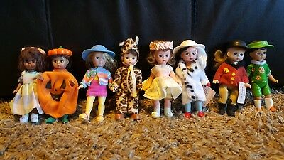 "Lot of 8 Madame Alexander 5"" Dolls"