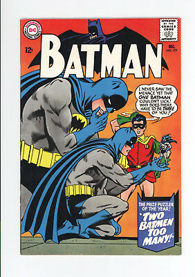 Batman #177 - Beautiful High Grade Vf/nm 9.0 - 1965 - Great Cover - White Pages