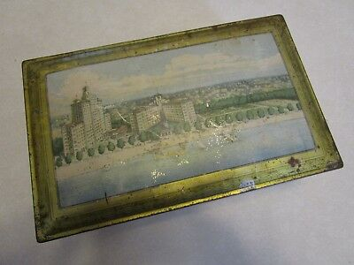 Edgewater Beach Hotel Chicago Cookie Biscuit or Candy Tin