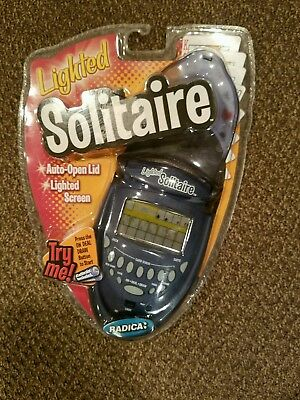 2003 Radica lighted solitaire handheld game..new in package