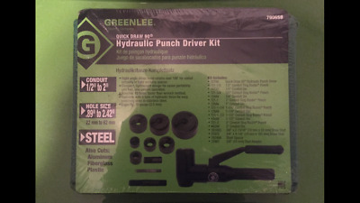 Greenlee Hydraulic Punch Driver Kit 7906Sb Nip New Quick Draw 90