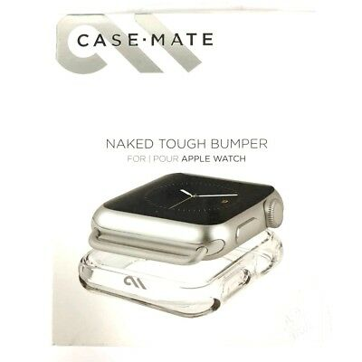 Case-Mate Naked Tough Bumper for 42mm Apple Watch Clear