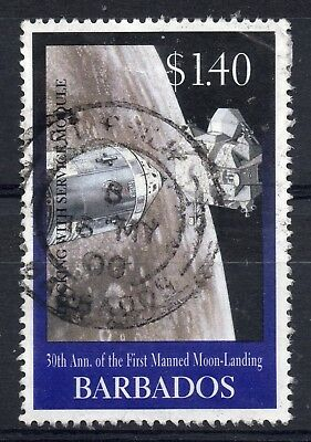 BARBADOS = 1999 30th Anniv. of Moon Landing, $1.40. SG 1141. Fine Used.