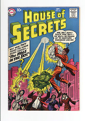 House Of Secrets #12  Nice Grade  Extremely Rare 1958  Horror - Jack Kirby Cover