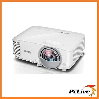 BenQ MW826ST 20,000:1 DLP Projector 3400 Lumens 3D HD HDMI Speaker Short Throw
