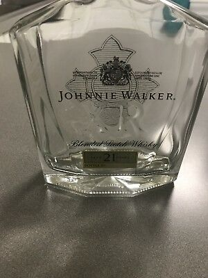 Johnny Walker & Son XR 21 Blended Scotch Whiskey (Empty) Bottle without Box