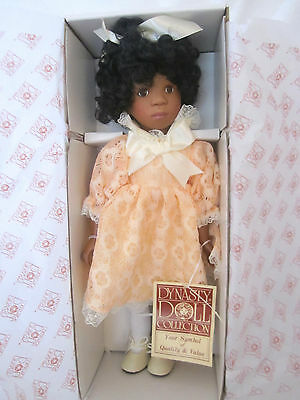Dynasty Doll Collection African Doll AUDREY 14""