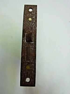 Antique Steel Plated Decorative Mortise Lock