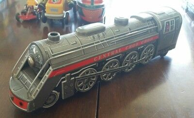 Vintage Tinplate Train - Central Choo Choo Battery Operated