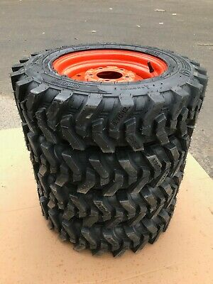 4-5.70-12 Xtra Wall Skid Steer Tires/wheels for Bobcat 310, 371 & 443