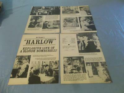 Carol Lynley Ginger Rogers Harlow    clipping #CZ