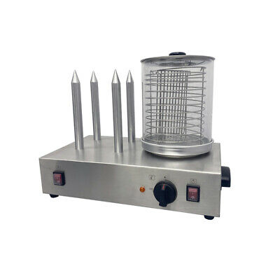 Commerical 110V Hot Dog Warmer Machine/Hot Dog Roller and Bun Warmer Machine
