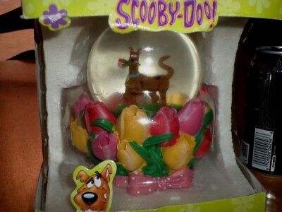 "Hanna-Barbera - ""scooby-Doo"", Snow Globe & Wind Up Music Box, Jumbo Sized, Vint."
