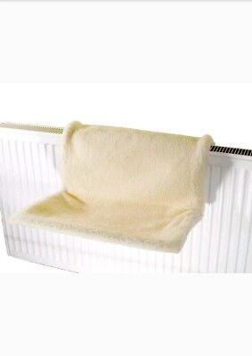 Cat Kitten Hanging Radiator Pet Animal Bed Warm Fleece Basket Cradle Hammock