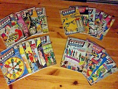 Justice League of America 1-25 Near Complete Run Lot of 23 Silver Age 2 3 4 5 21