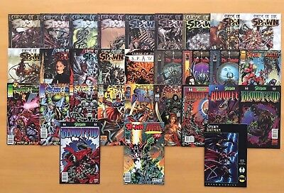 1 Lot of 30 Spawn Newsstand Variant Savage Dragon Batman Curse Impaler Wildcats