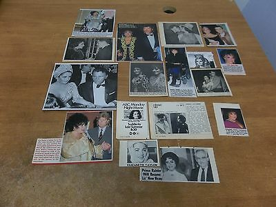 Elizabeth Taylor #2  lot of  clippings #425