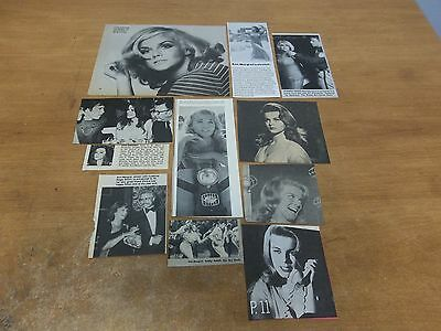 Ann-Margret  lot of  clippings #425