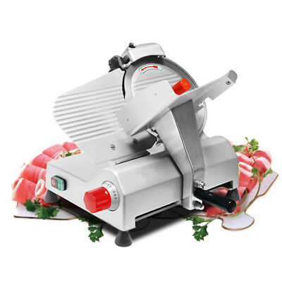 "Electric 10""  Blade Meat Slicer Commercial Deli Food Cheese Veggies Cutter 110v"